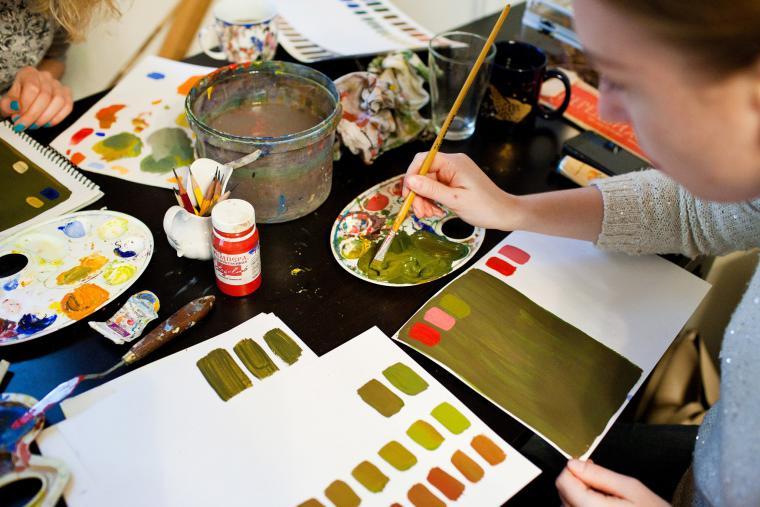 цвет, колористика, рисование