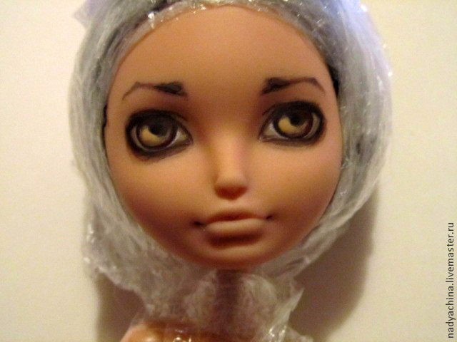 перерисовка лица куклы, фото № 10