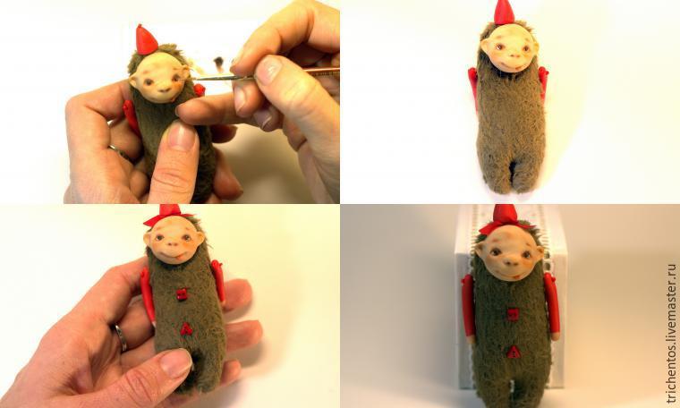 Создаем карманную обезьянку Мими, фото № 11
