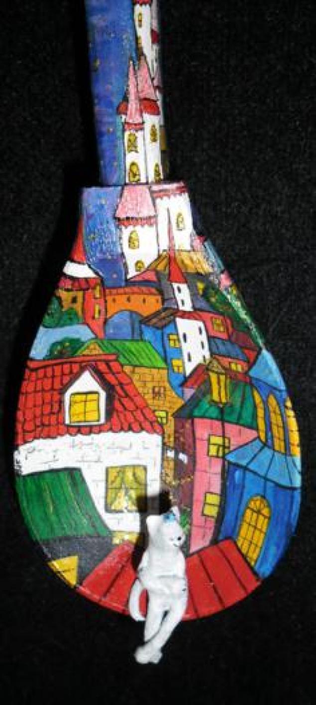 деревянная ложка, сувенир для кухни