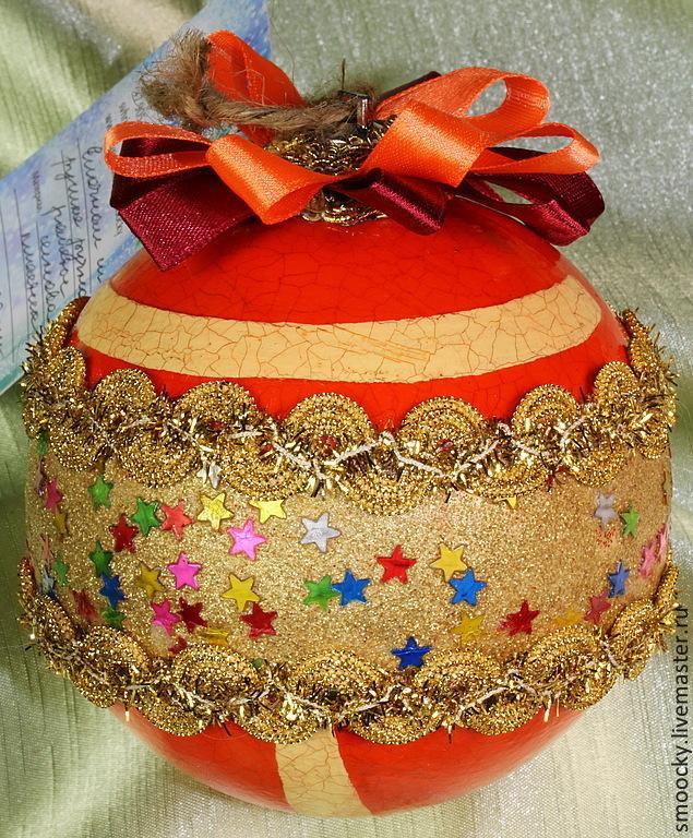 конфетка, набор новогодних подвесок
