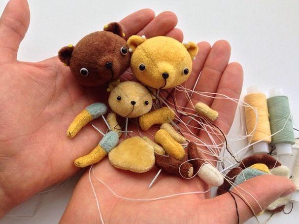 abcbears, мишки тедди, друзья тедди, миниатюра, обучение, мастер-класс, москва