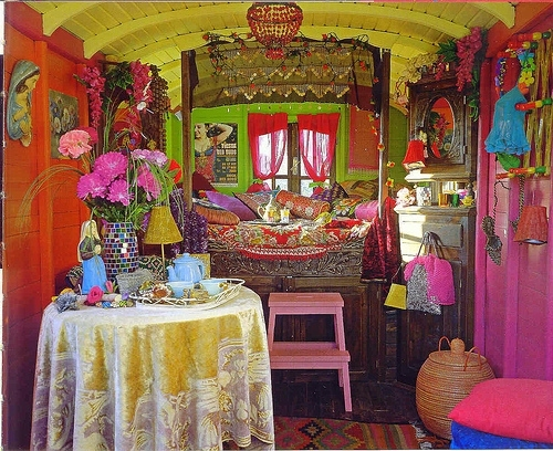 интерьер комнаты, сочетание цветов