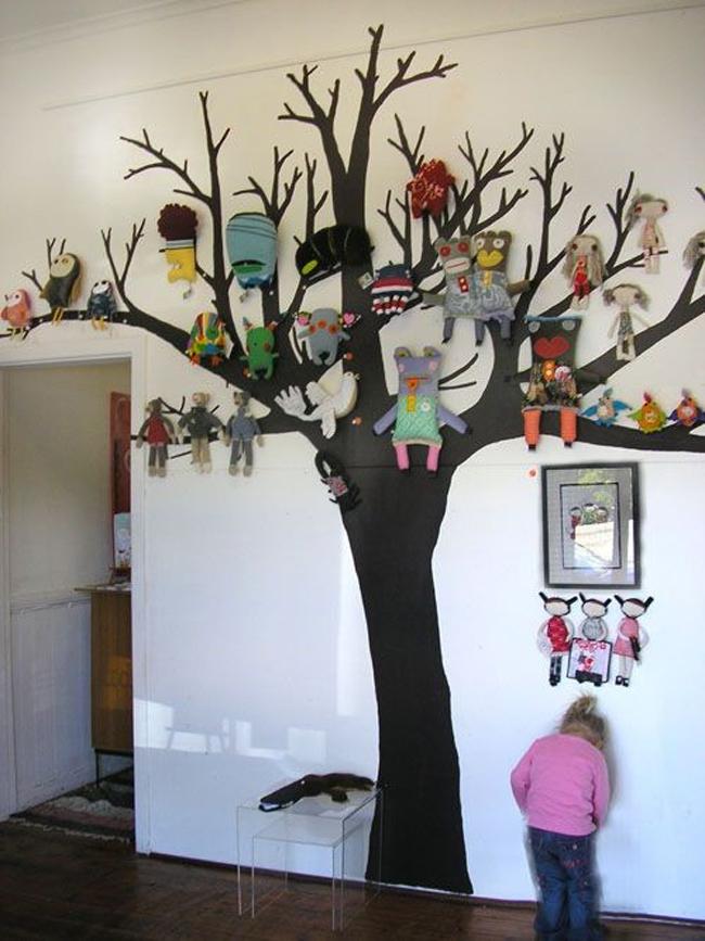 Украшаем стены деревом своими руками