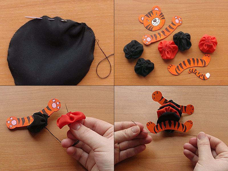 Сделать игрушку для ребёнка своими руками 59