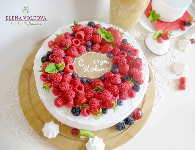 муляж десерта