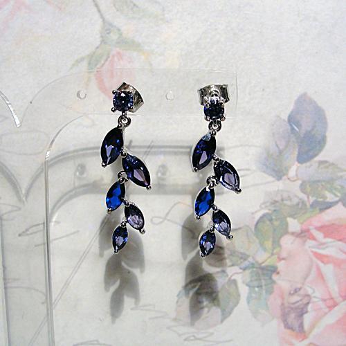 украшения с танзанитом, синий цвет, кольцо