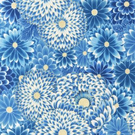 американские ткани, хризантема