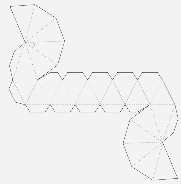 Объёмные фигуры из бумаги своими руками схема