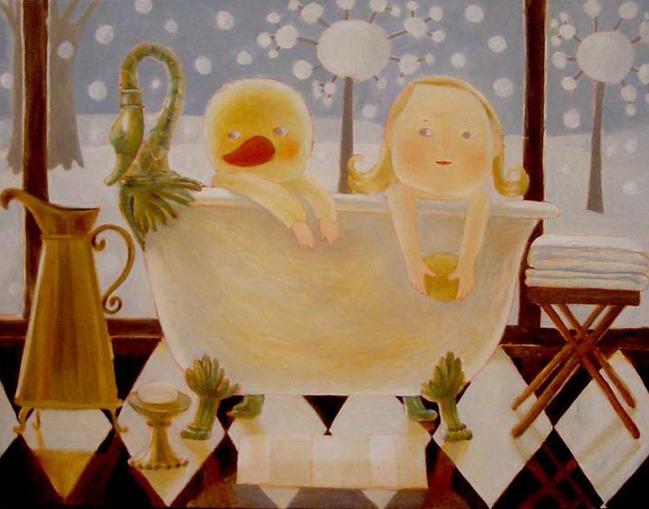 Путешествие в детство с белорусской художницей Анной Королёвой, фото № 1