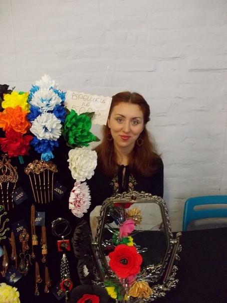 маркет, цветы из фоамирана, hand-made