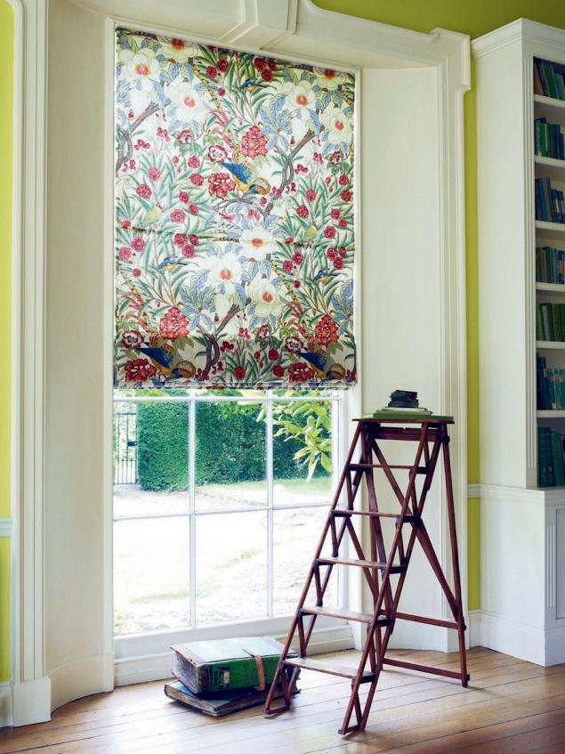 цветочные ткани, портьерные ткани