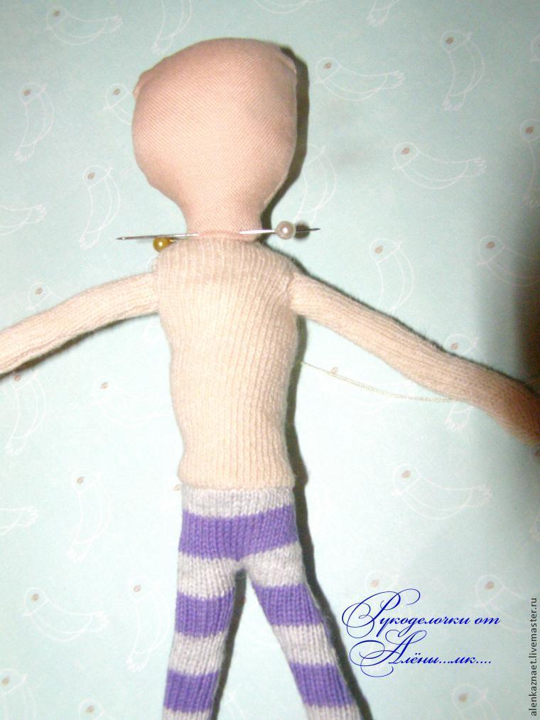 Мастерим куклу-подвеску «Бабочка» по мотивам Лалалупси, фото № 23