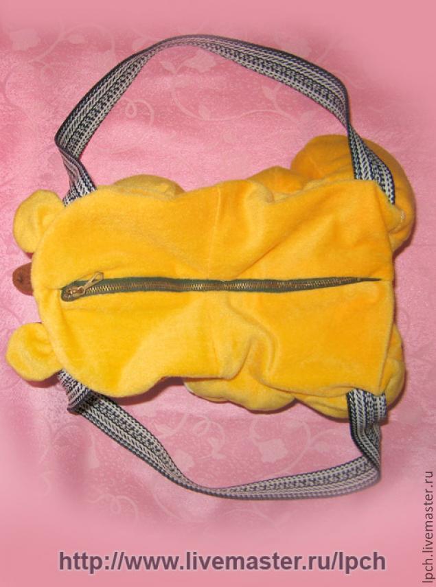 туристическая сумка на пояс выкройка