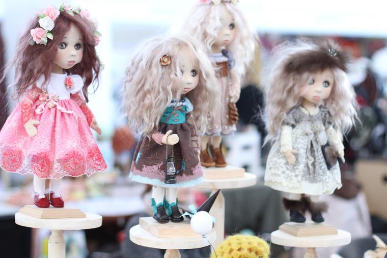 Международной выставка авторских кукол и мишек «Панна DOLL'я» в Минске. Часть 1., фото № 2
