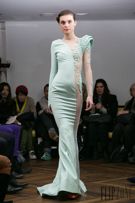 Tony Yaacoub Haute Couture весна-лето 2014, фото № 19