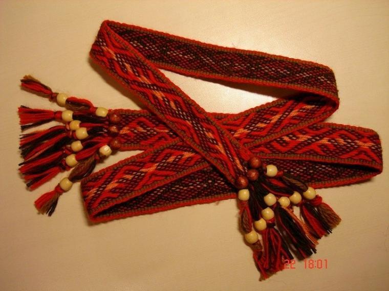 ткачество на берде, народные ремёсла, обереговый пояс