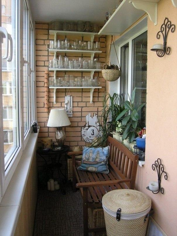 обустройство балкона, балкон