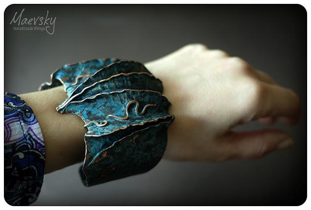 листовая медь, процесс, танец дракона