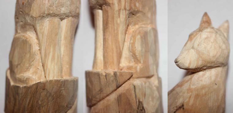 деревянный тотем