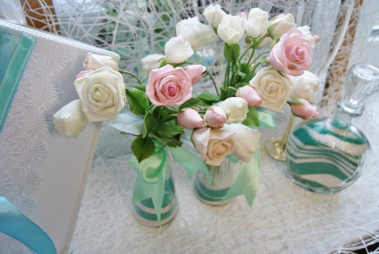 Букетики для декорации свадебного стола....., фото № 4