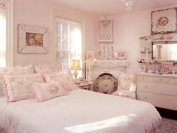 Романитичный дизайн для спальни