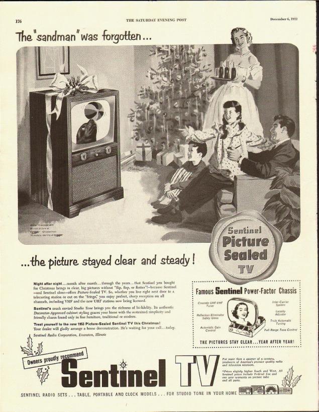 Новогодняя реклама Vintage/1951 -1956 включительно, фото № 22