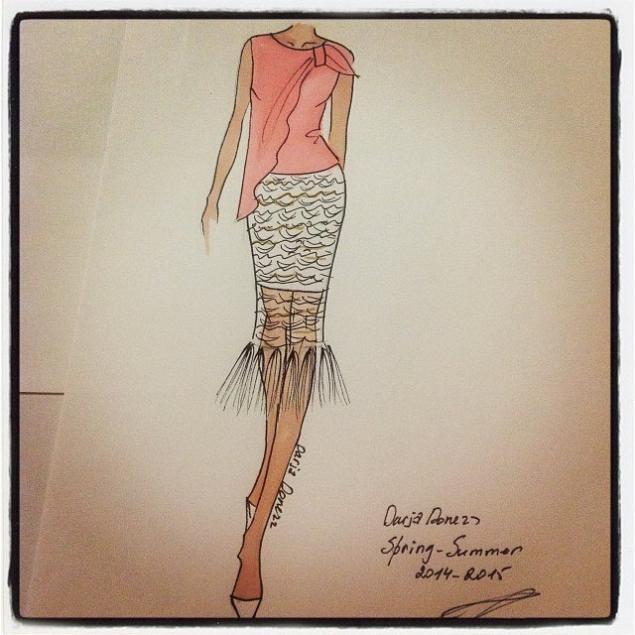 Как правильно рисовать индийский дизайн одежды
