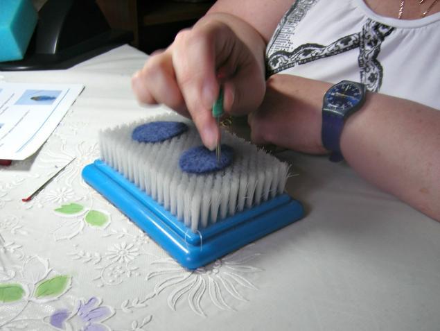 мастер-класс по валянию, игрушка своими руками