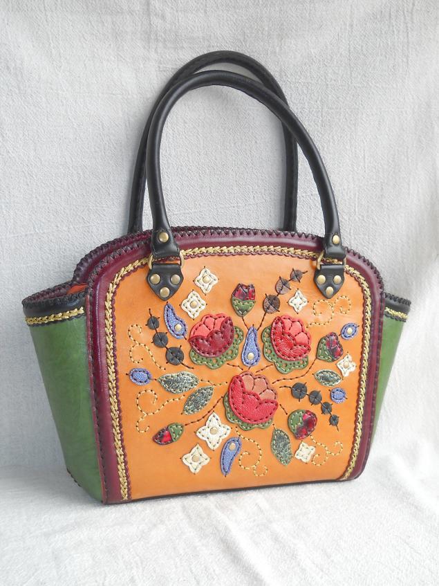 сумка из кожи, обучение, сумка женская, полякова надежда