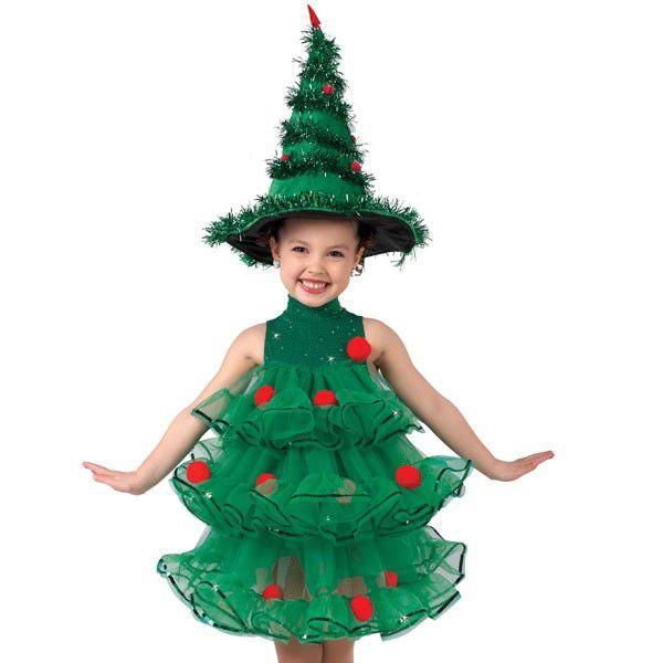 Платье новогодние елка