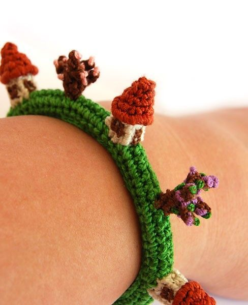 Crochet, how cute is this???