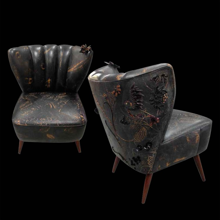 мебель с вышивкой