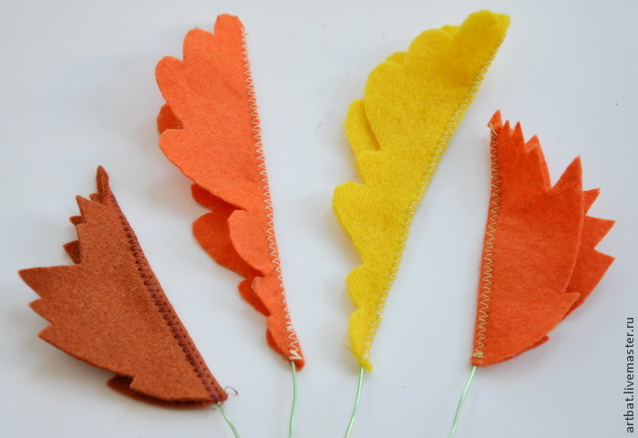 DIY Autumn Wreath Without Felting, фото № 8