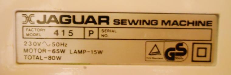 Швейная Машинка Super Jaguar 415 Инструкция - фото 11
