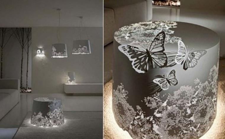 Бабочки как элемент дизайна интерьера, фото № 14