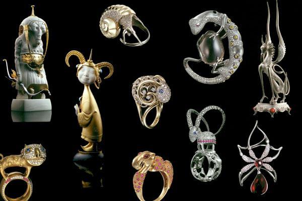 ювелирные украшения, необычные украшения, драгоценные металлы, кость