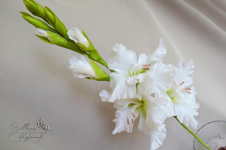 цветы из холодного
