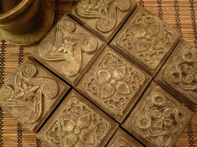 новинки, натуральное мыло, для проблемной кожи, коричневый, кофе