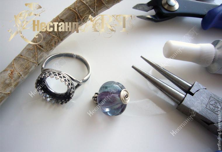 урок, кольцо с камнем