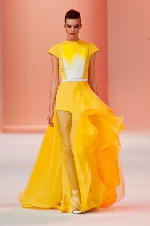 Stephane Rolland Haute Couture весна-лето 2014, фото № 28