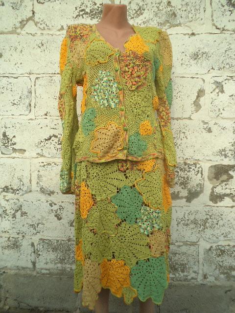 аукцион на костюм, вязаный костюм, женский костюм