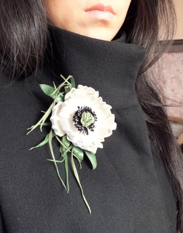 акция, кожаный цветы