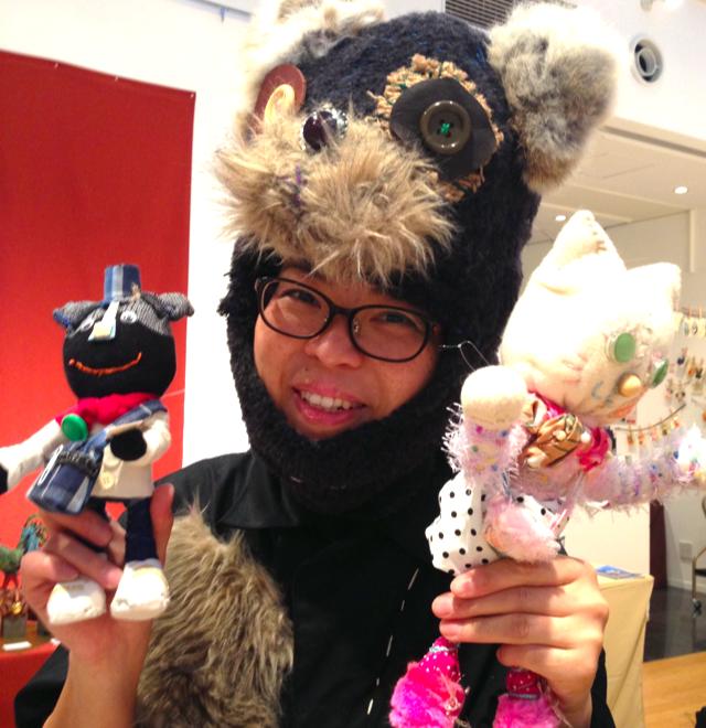 японский стиль, дети, выставка кукол