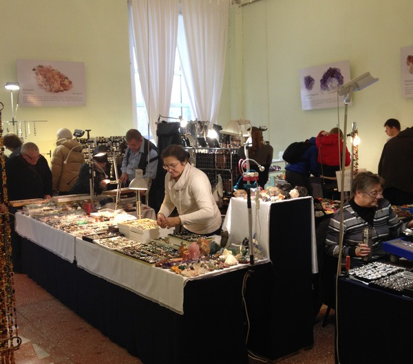 выставка-продажа, минералы
