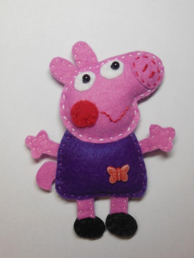 Поделка свинка пеппа своими руками 26