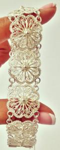 Филигранный браслет от Кубачей - kubachi.su