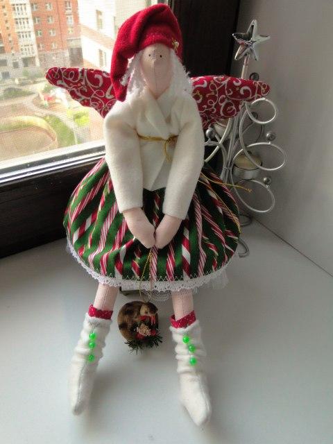тильда, своими руками, игрушка, мастер-класс, подарок