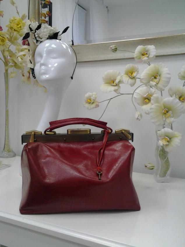 сумка ручной работы, подарок на новый год, мастер-класс, кожа натуральная, саквояж