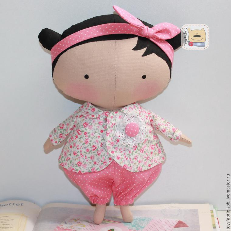 toysfabric, мастер-класс по тильде